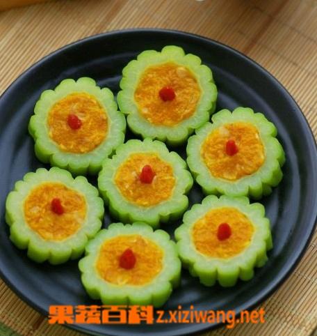 果蔬百科酿苦瓜